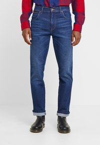 Wrangler - TEXAS - Jeansy Straight Leg - stay warm - 0
