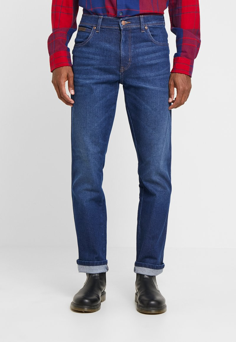 Wrangler - TEXAS - Jeansy Straight Leg - stay warm