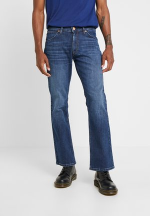 JACKSVILLE - Jeansy Bootcut - broken arrow