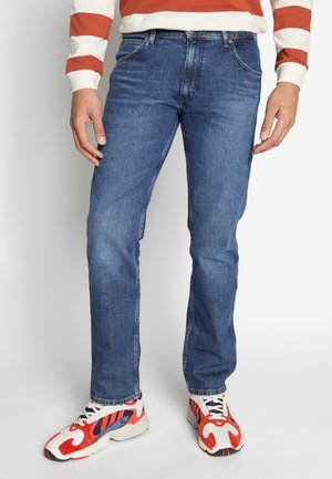 GREENSBORO - Jeansy Straight Leg - blue denim
