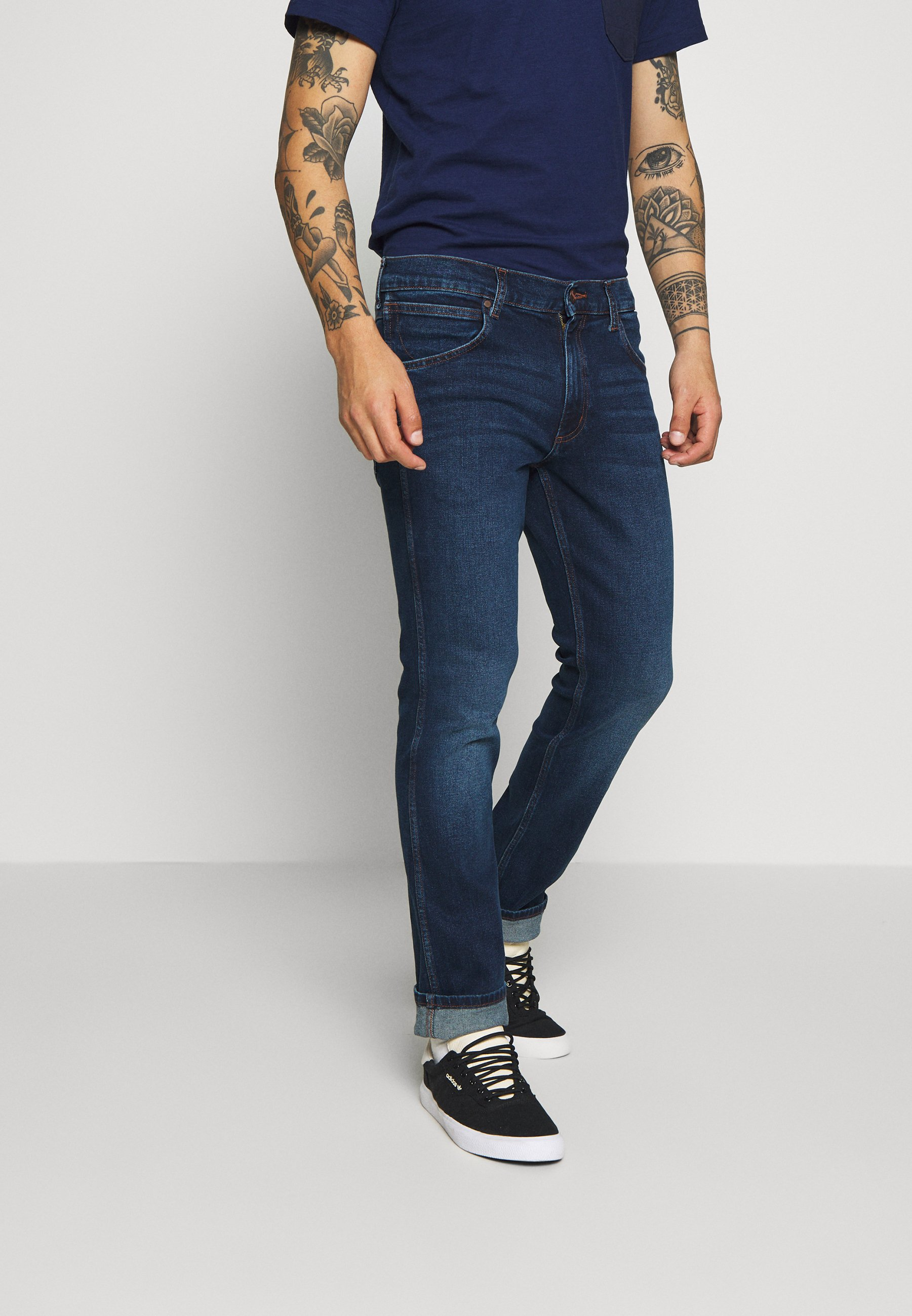 Wrangler GREENSBORO - Jeansy Straight Leg - blue goods