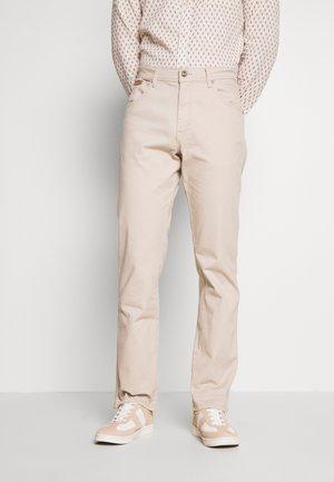 TEXAS - Straight leg jeans - stone