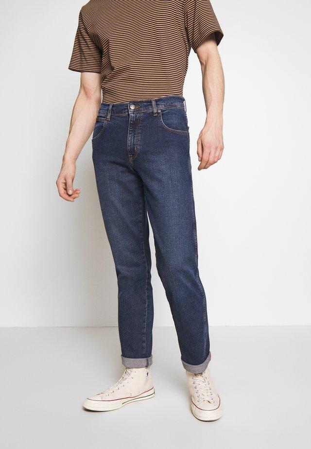 TEXAS - Jeansy Straight Leg - blue denim