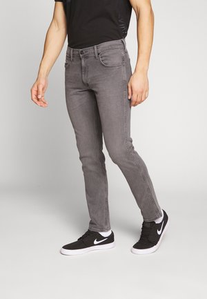 GREENSBORO - Jeans straight leg - grey denim