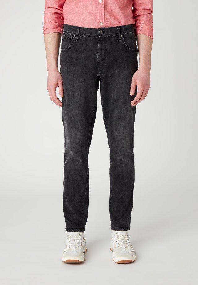TEXAS  - Slim fit -farkut - black