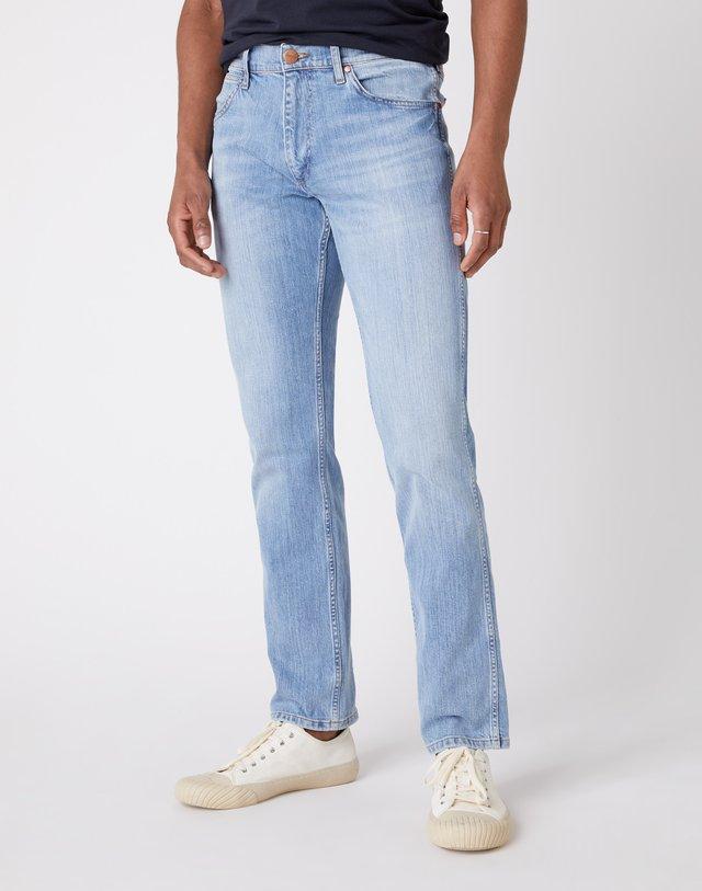 GREENSBORO - Jeans straight leg - utopia blue