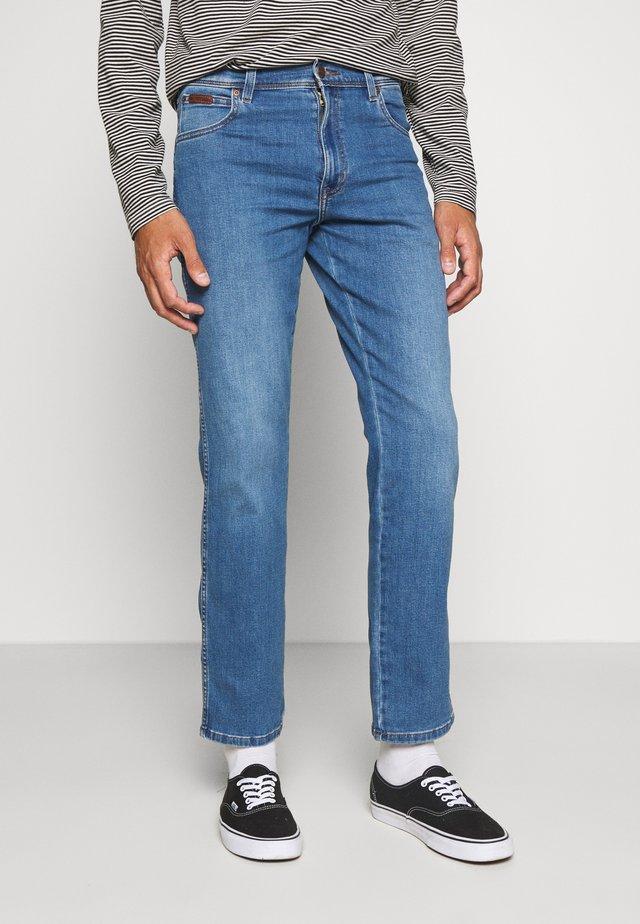 TEXAS - Straight leg -farkut - blazing blue