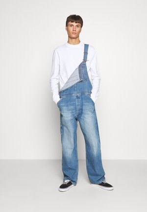 AUTHENTIC BIB - Lacláče - blue denim