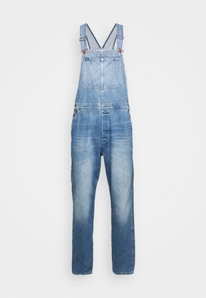 AUTHENTIC BIB - Relaxed fit jeans - blue denim