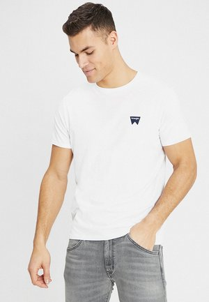 SIGN OFF TEE - T-shirts - white