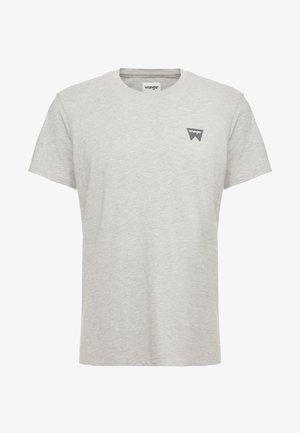 SIGN OFF TEE - T-shirt basique - grey