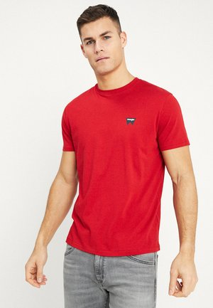 SIGN OFF TEE - T-shirt basic - scarlet red