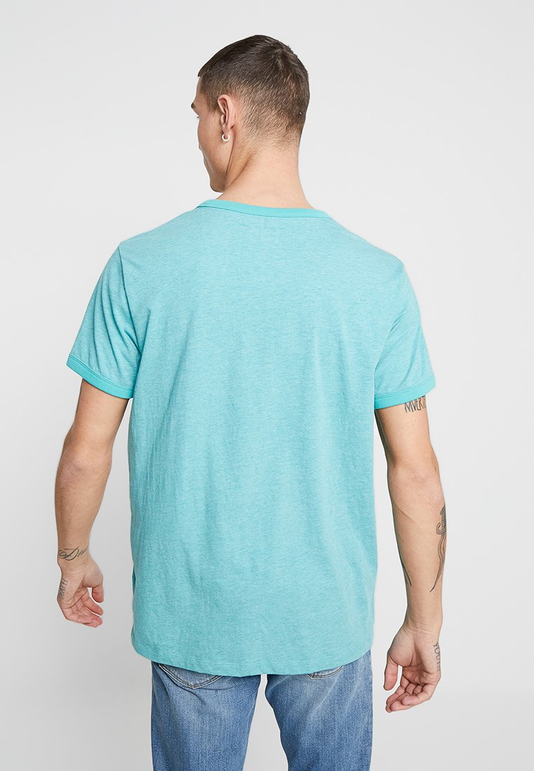 Wrangler Sign Basique Starlight Blue OffT shirt cKTJF1l