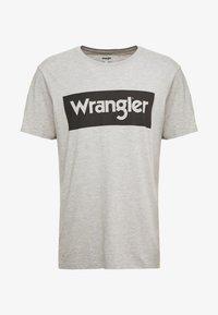 Wrangler - T-shirt z nadrukiem - mid grey melange - 3