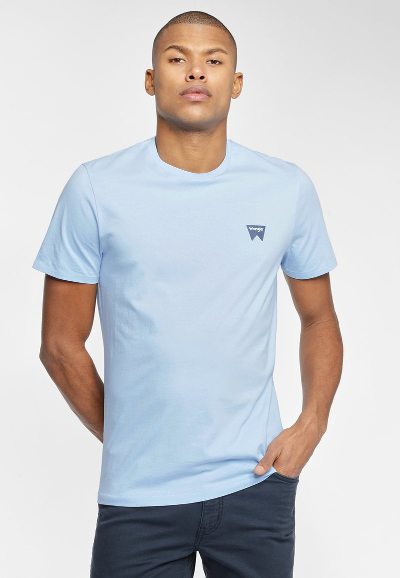 Wrangler - SIGN OFF  - T-shirt basic - cerulean blue