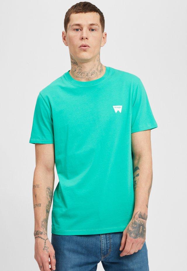 SIGN OFF  - T-shirt basic - peacock green