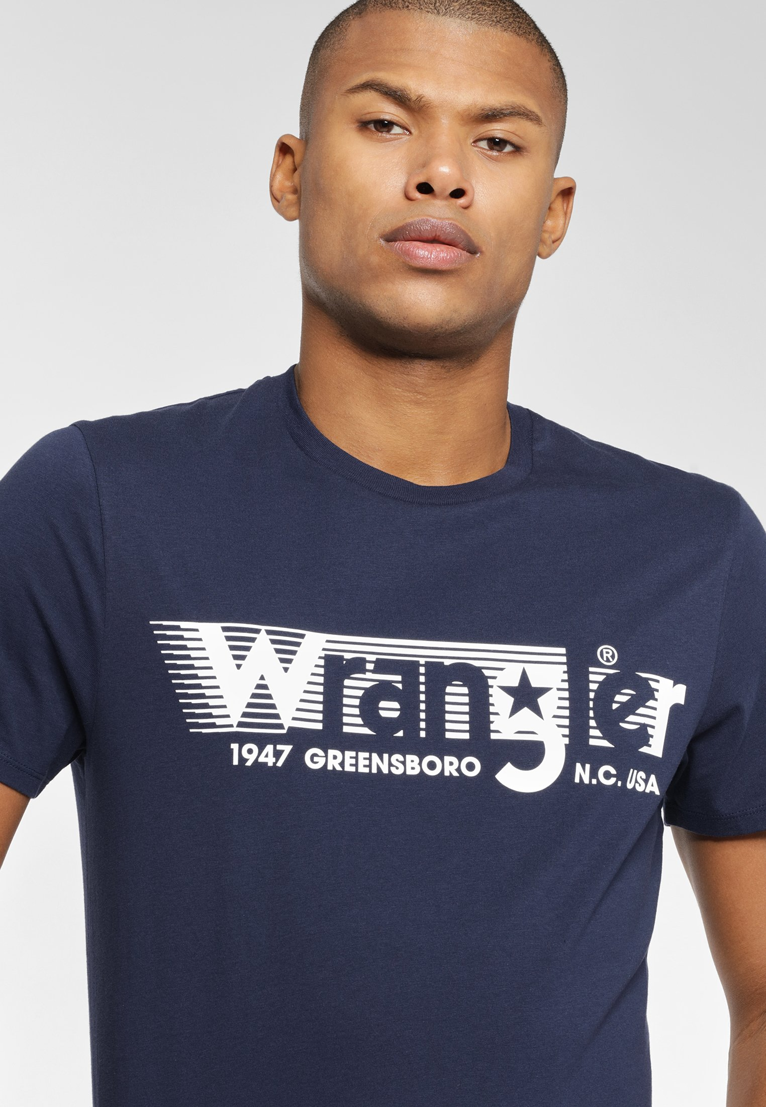 Wrangler T-shirt imprimé - navy