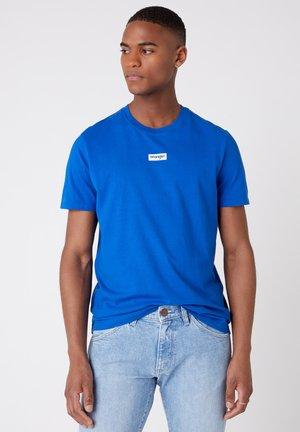 T-shirt basic - wrangler blue