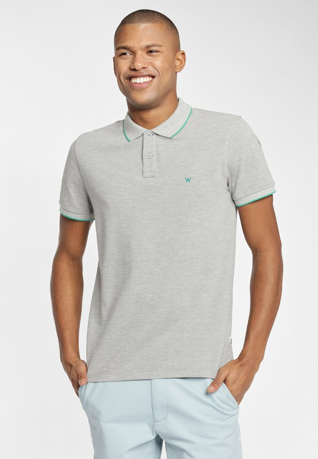 Koszulka polo - grey melange