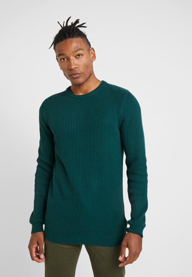 STRUCTURAL CREW - Sweter - pine