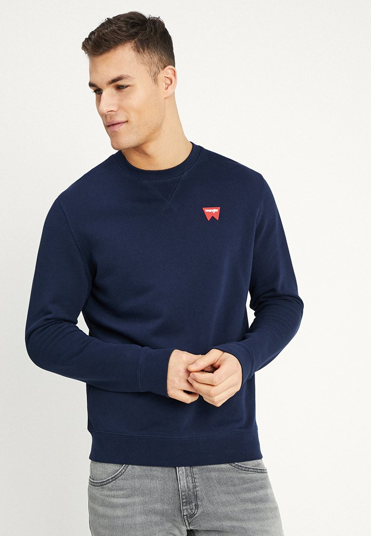 Wrangler - SIGN OFF - Sweatshirt - navy