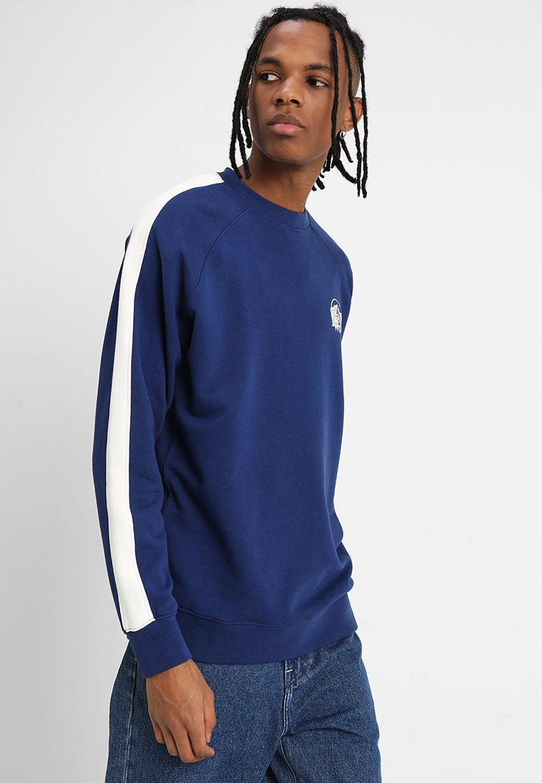 Wrangler - CREW GRAPHIC LOGO - Sweatshirt - blue depths