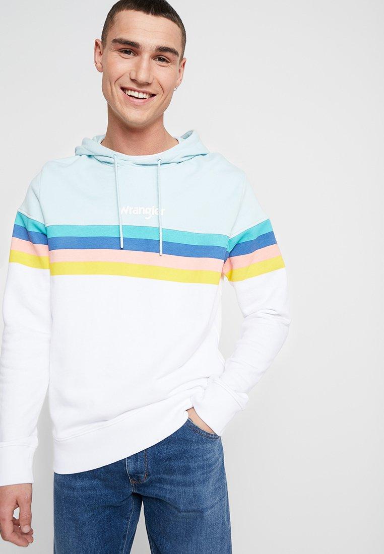 HoodieSweat Wrangler Capuche Rainbow À White PXuZiTOk