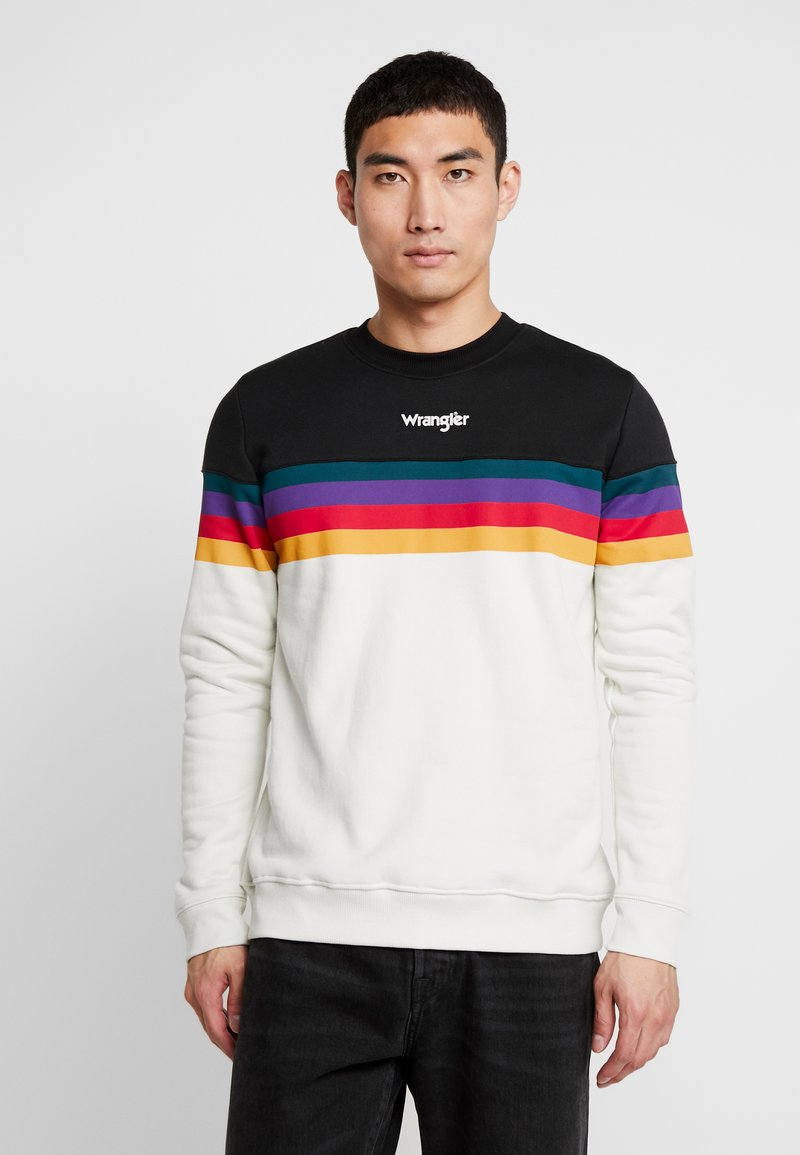 Wrangler - RAINBOW  - Sweatshirt - cloud blue