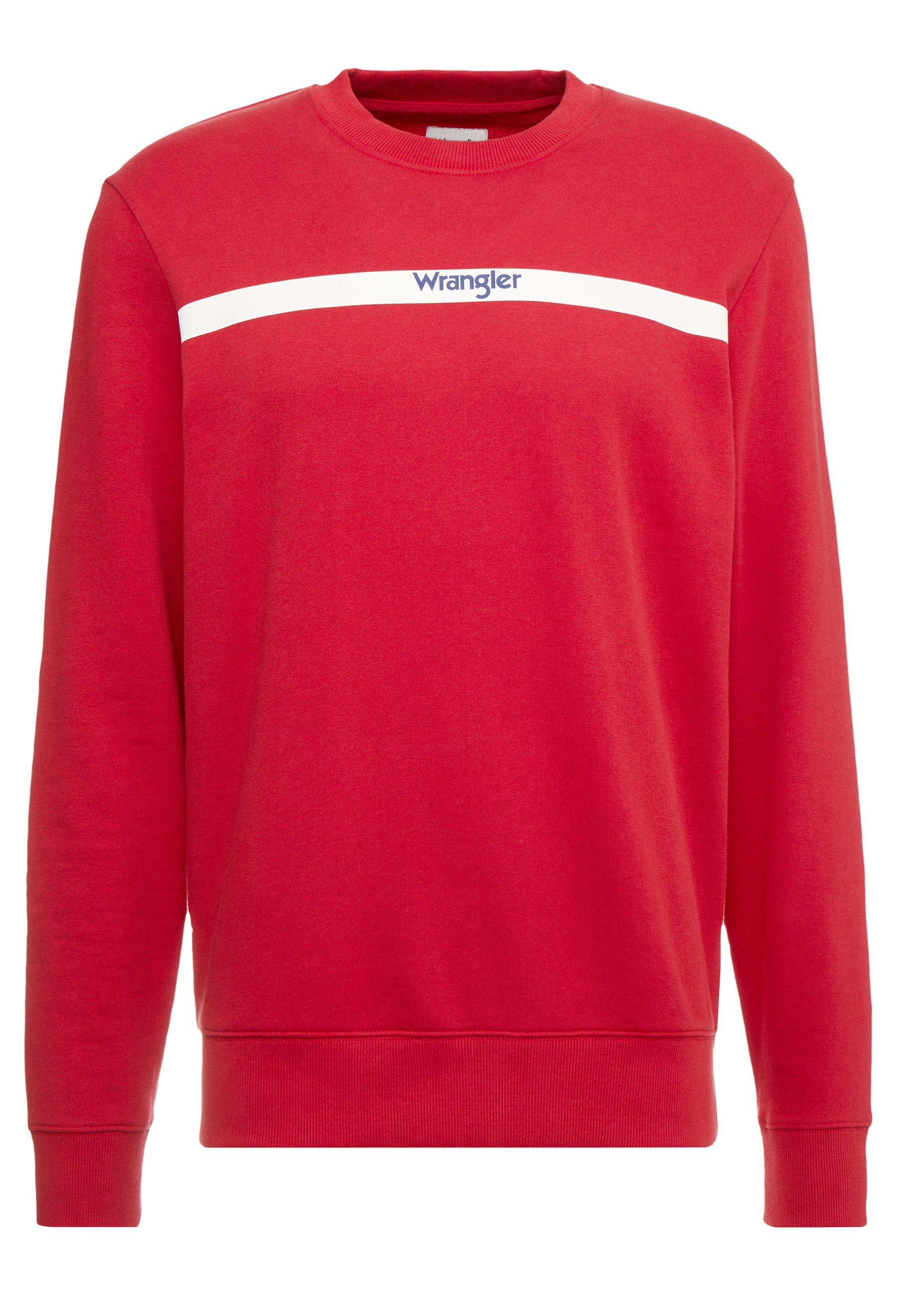 Wrangler Stripe Logo - Sweatshirt Red