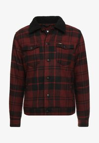 Wrangler - TRUCKER - Light jacket - madder brown - 4