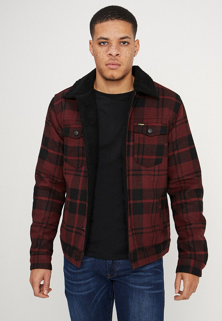 Wrangler - TRUCKER - Light jacket - madder brown