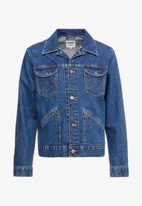 Wrangler - Kurtka jeansowa - blue - 3