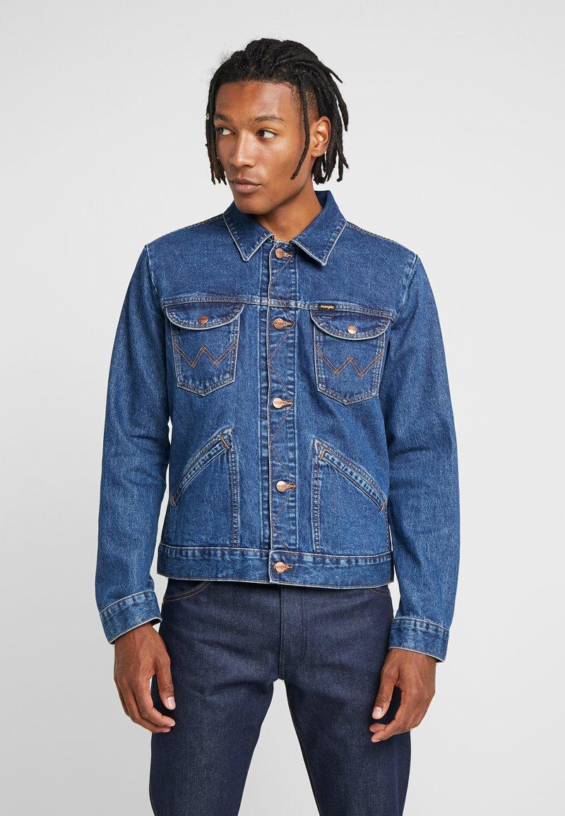 Wrangler - Kurtka jeansowa - blue