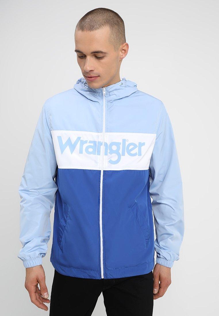 Wrangler - Vindjacka - cerulean