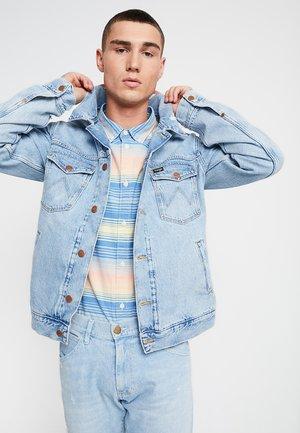 REGULAR - Kurtka jeansowa - blue hawaii