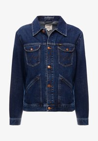 Wrangler - Jeansjacka - dark blue denim - 3