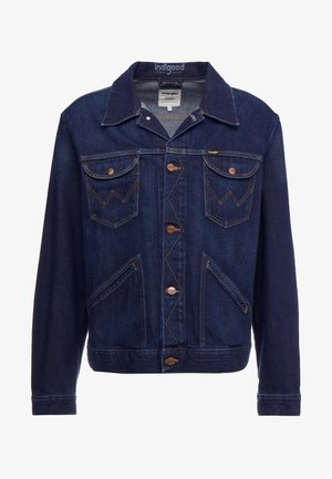 Denim jacket - good night