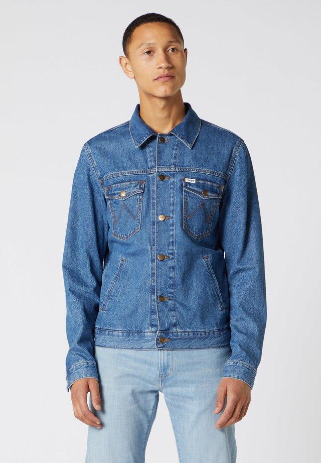 Kurtka jeansowa - bora blue