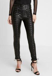 WRSTBHVR - STYLE PANTS - Trousers - black - 0