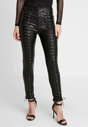 STYLE PANTS - Kalhoty - black