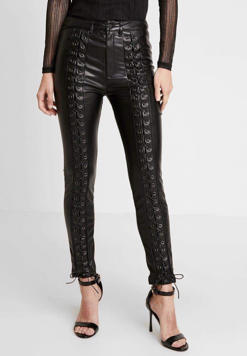 WRSTBHVR - STYLE PANTS - Trousers - black