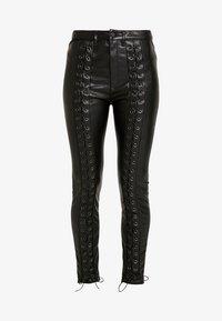 WRSTBHVR - STYLE PANTS - Trousers - black - 4