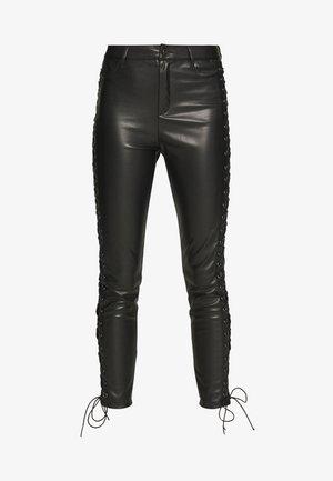 PANTS DAMN - Kalhoty - black