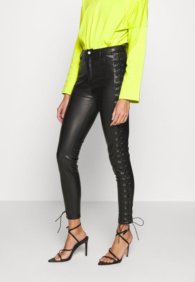 PANTS DAMN - Trousers - black