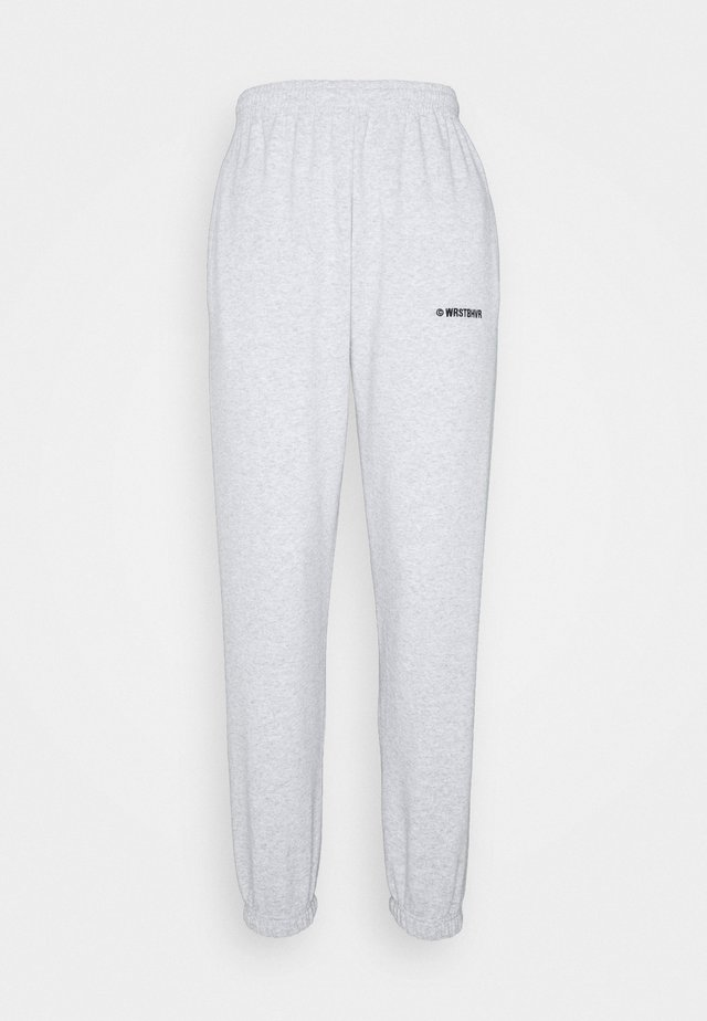 PANTS LULA - Teplákové kalhoty - grey melange
