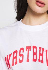 WRSTBHVR - STYLE CHEER - Triko spotiskem - white - 5