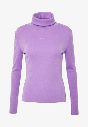 TURTELNECK LONGSLEEVE AVERY - Long sleeved top - purple