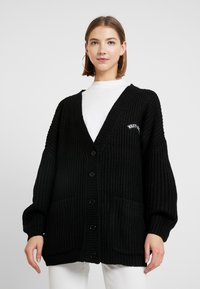 WRSTBHVR - CARDIGAN THANKS - Gilet - black - 2