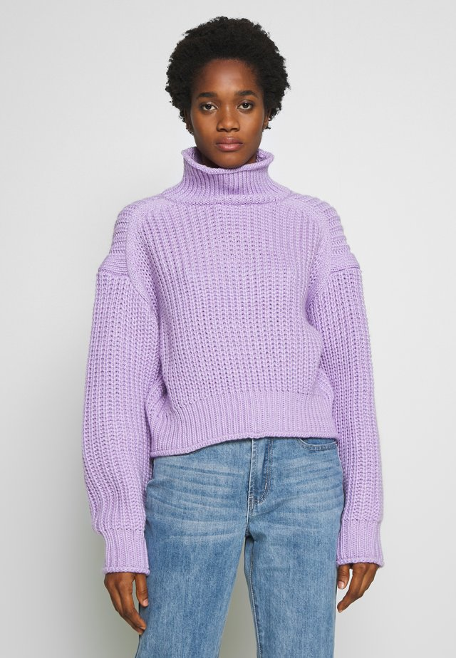 STYLE SWEATER POPPY  - Jumper - lilac