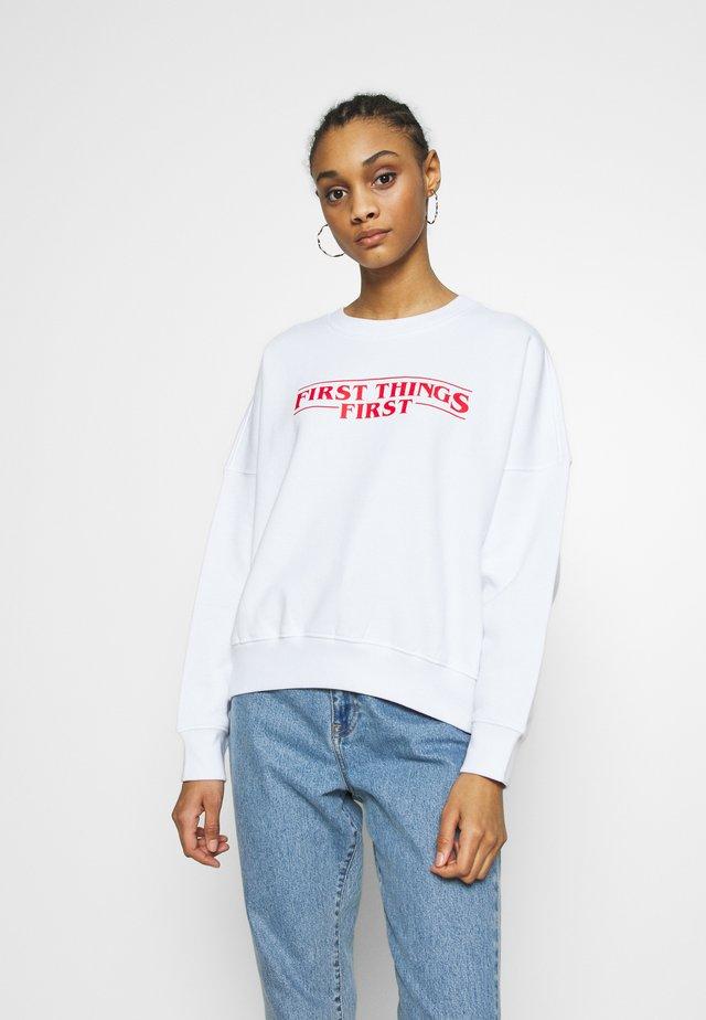 PRIO  - Sweatshirt - white